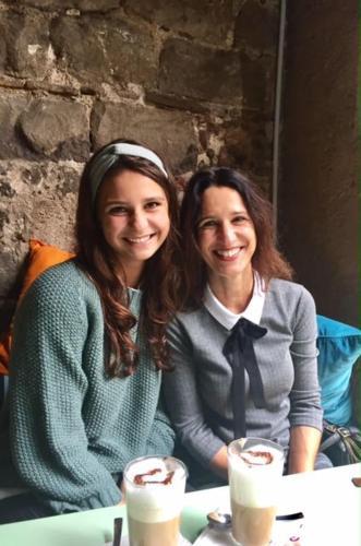 jolande met haar dochter Guusje