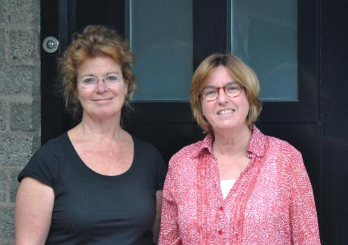 Annemieke van Scherpenseel en Els van Adrichem
