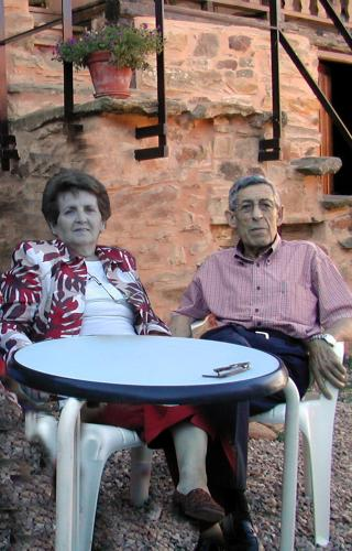 Isabel e Isidoro, los creadores de Las Águedas