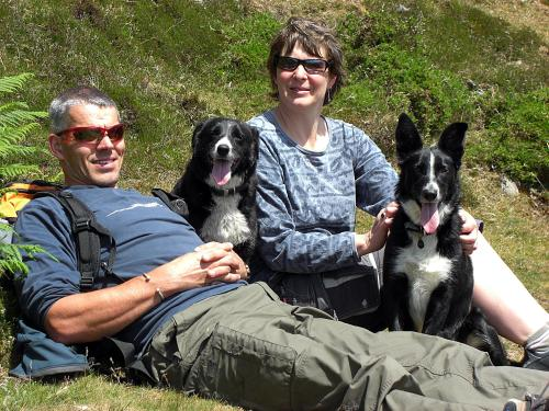 Graham and Jacky, Tess & Nell