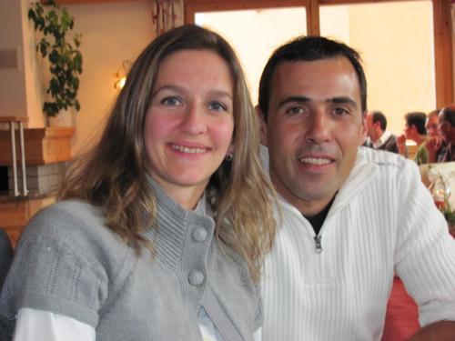 Daniela und Linard Caviezel