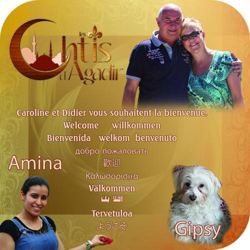 Caroline et Didier, Amina, Gipsy