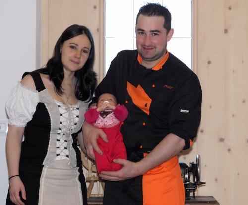 Simone, Philipp und Sophie Abler