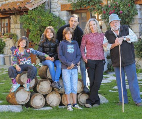 Piluca i Lluís,Maria Bernat,Martina i Padrí Quim