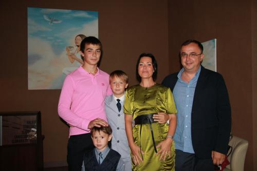 Visa šeimininkų šeima