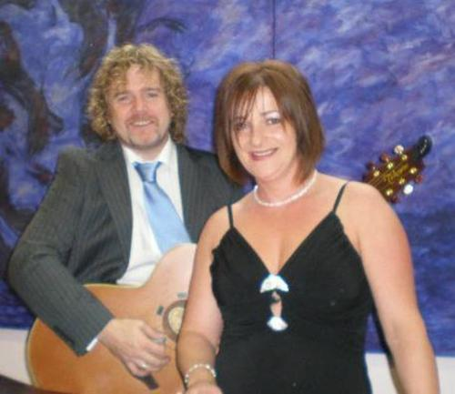 me and my musician Partner tomas