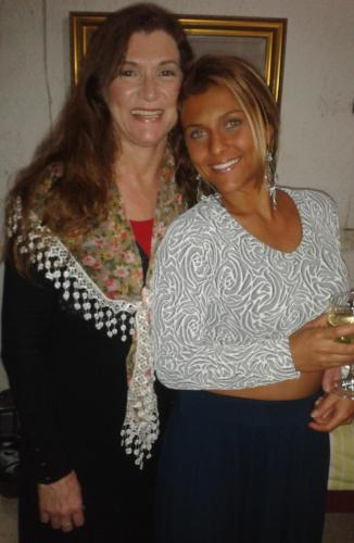 Maria Elisa Cheida e Isabela Mayara Cheida