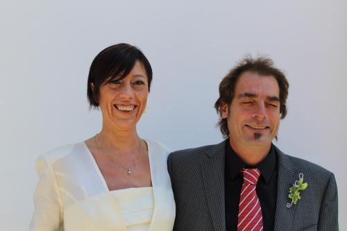 Maribel y Vicente