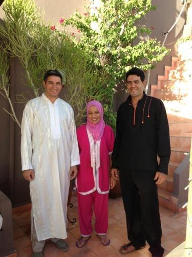 Brahim, Henia and Ismail