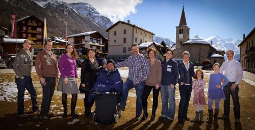 Familien Walter & Williner: Sören, Rolf, Debora, Yvette, Egon, Lars, Jane, Sebastian, Claudia, Samira, Mirjam, Björn