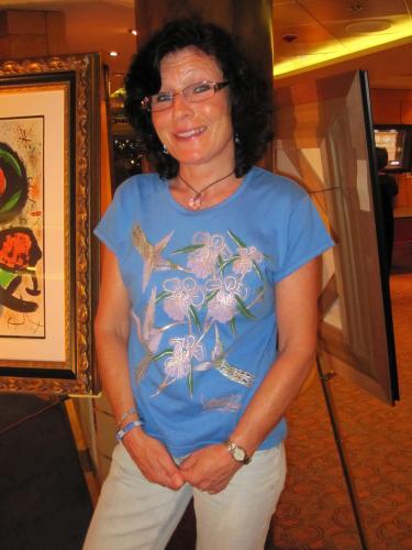Gerken Ferienwohnungen Cuxhaven - Frau Fenja Rimkus Gästebetreuerin im Haus