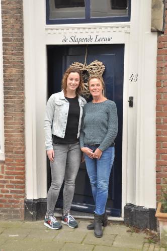 Ellen van de Weel en Liza van der Weel