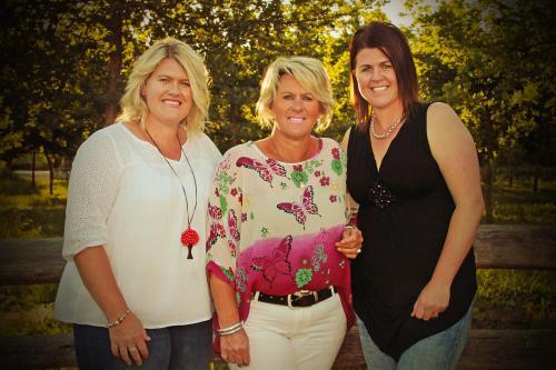 Emily , Ellen and Katie