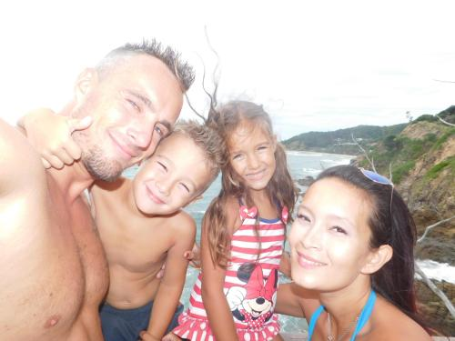 michellyn thibaut and our kids