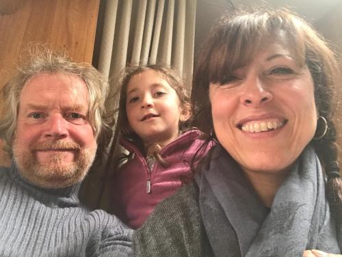 Marie, Léa et Peter