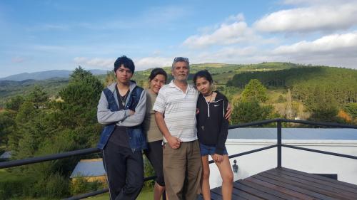 Mi familia y yo, Flavio, en uno de los decks