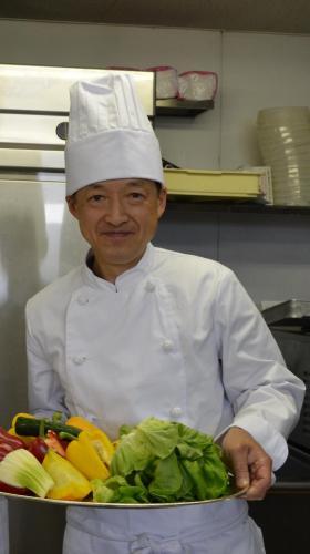 Owner&Chef, Sho Fujii