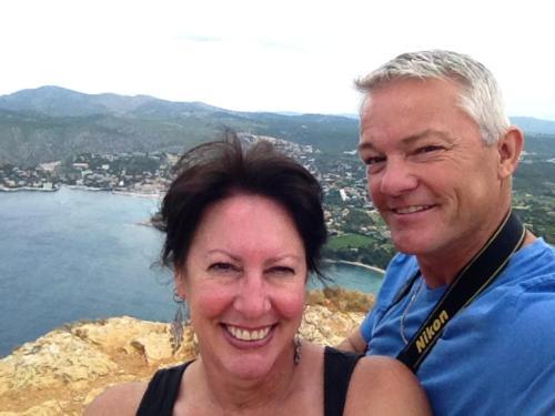 Graziella and Mark Rhodes