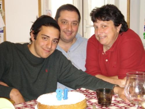 Paola, Filippo e Giuliano