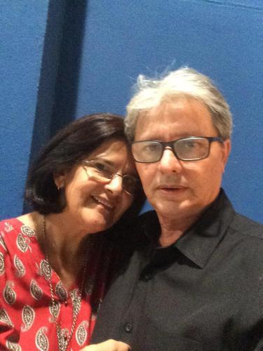 Roberto Andrade e Maria das Graças