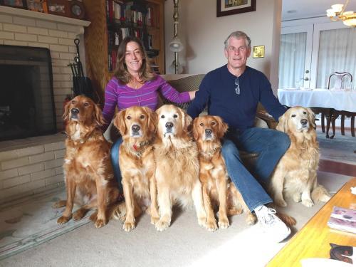 Jim & Julie Degenfelder & Golden Family