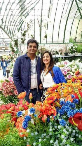 Sanjay and Pratibha Talan