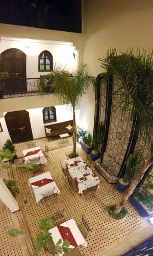 The view of the Riad from the up.
