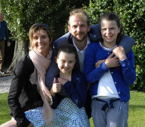 Wim, Ilse, Luca and Yelena