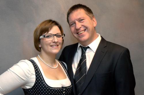 Franz-Michael Metzler und Carina
