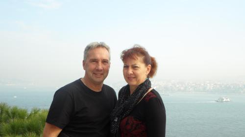 Olivier et Noëlle (gérants)
