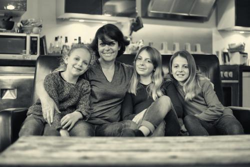 Caroline et ses filles