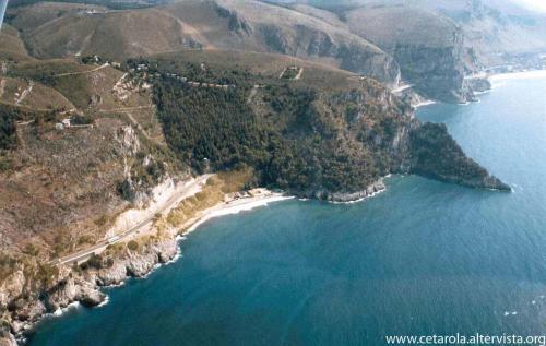 Punta Cetarola - vista aerea