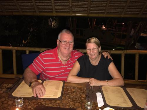 Pete and Chrissie Owners