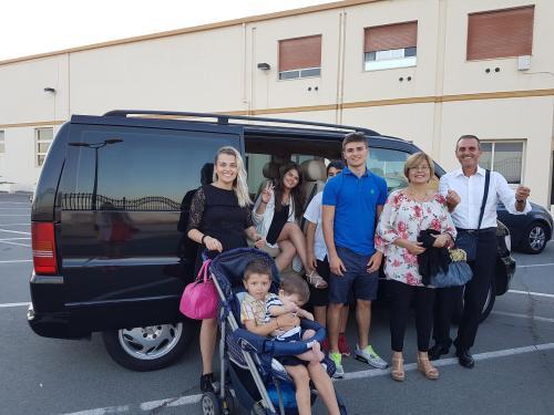 Laura, Daniela, Guido e famiglia