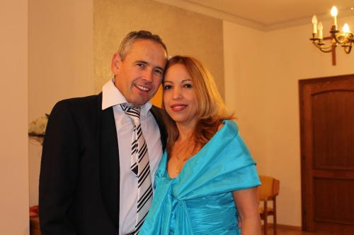 Stefan K. Fox and my wife Sonia