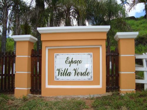 Entrada da Chácara Espaço Villa Verde