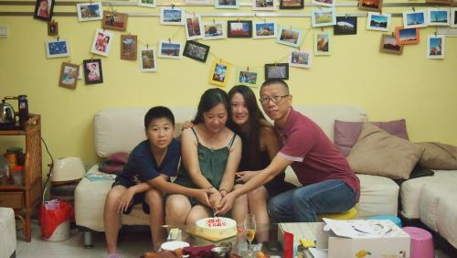 Yvonne with Family