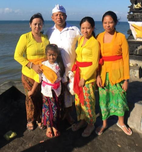 Sang Putu & My Families, we are offer private experiences with Covid 19 Protocol