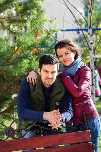 Михаил и Елена Домант