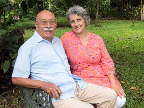 Xavier and Pilar