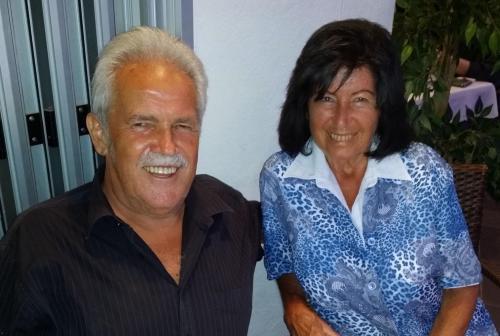 Frau Erna und Herr Josef Monuth