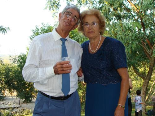 Bertilio Arrais e Maria Constantina