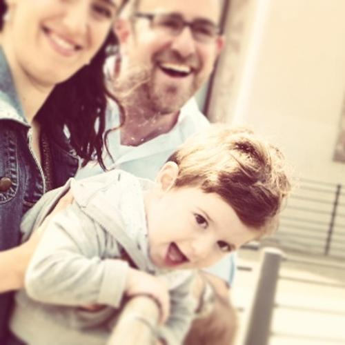 Gabriel avec maman et papa :)