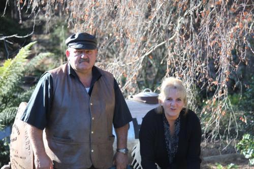 Bill with Rebecca