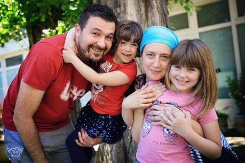 Mirko, Katja, Lili and Maša