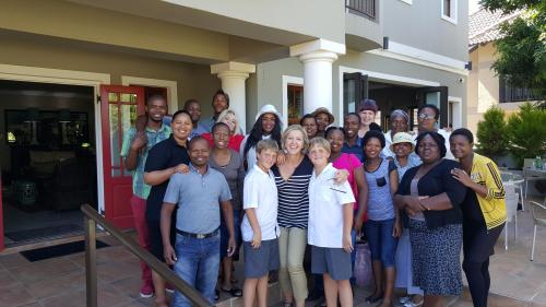 On the Beach Guesthouse staff and management
