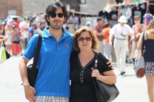 Pierpaolo e mamma Sandra