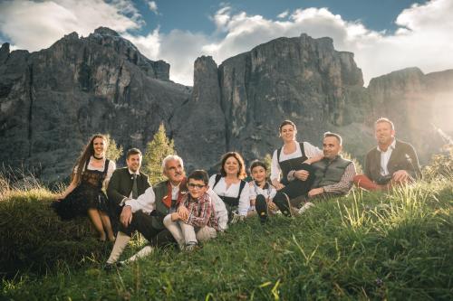 Annelies, Axel, Otto, Gabrile, Pia, Julia, Dagmar, Daniel