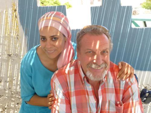 Jean-Noël et son épouse Souad
