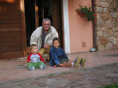 Maurizio e i suoi nipoti